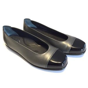 SAS Coco NEW Two Tone Slip On Ballet Flat Loafers